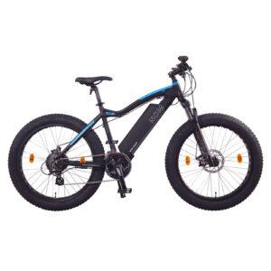 """E-bike Sunshine Coast NCM Aspen Plus Fat Electric Bike,E-Bike, 48V 16Ah 250W, E-MTB 768Wh Battery [Black 26""""]"""